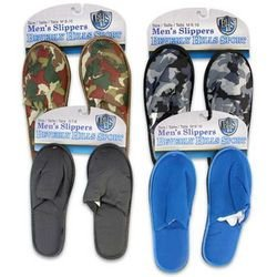 Cheap Beverly Sports Men's Slippers Case Pack 48 (B007XX63NU)