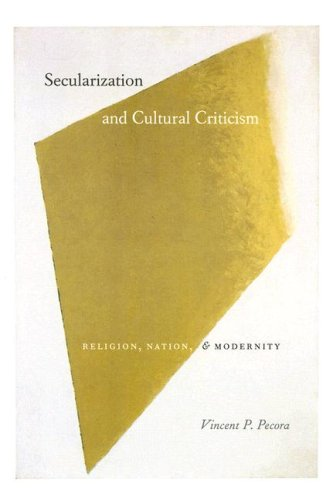 Secularization and Cultural Criticism: Religion, Nation, and Modernity (Religion and Postmodernism)