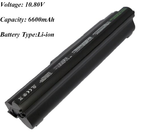 9 Cell, 71Wh,10.80V,6600Mah,Li-Ion,Battery For Sony Vaio Vpc-Z122Gxb, Vaio Vpc-Z124Gx/B, Vaio Vpc-Z126Ga/B, Vaio Vpc-Z126Gf/B, Vaio Vpc-Z126Gg/B, Vaio Vpc-Z126Ggxq Ps3, Vaio Vpc-Z126Gh/B, Vaio Vpc-Z127Fc, Vaio Vpc-Z127Fc/B Laptop ,Compatible Battery Numbe