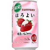 【期間限定】サントリーチューハイ ほろよい 練乳いちごサワー 350ml×24缶(1ケース)
