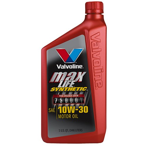 Valvoline vv180 maxlife synthetic sae 10w 30 motor oil 1 for Where can i drop off used motor oil