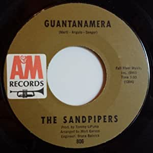 Sandpipers Guantanamera What Makes You Dream Pretty
