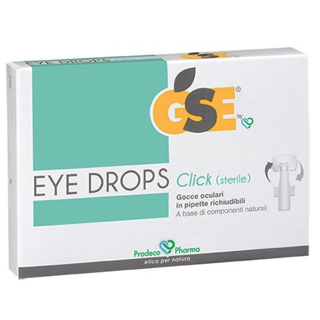 Eye Drops gocce oculare 10 pipette richiudibile
