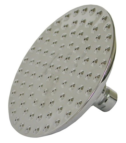 Plumbest S01-89BN Rain Style 8-Inch Round Shower Head with Dimples, Brushed Nickel