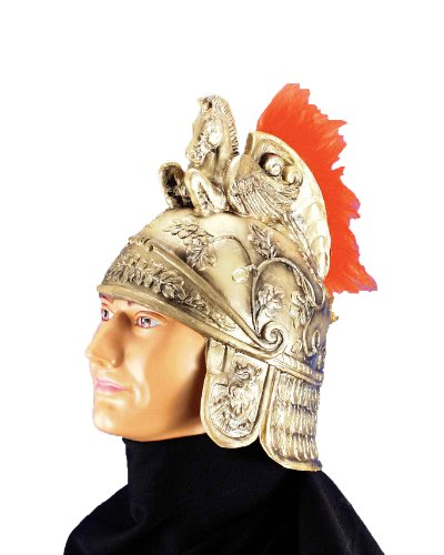 Forum Roman Costume Helmet with Crest