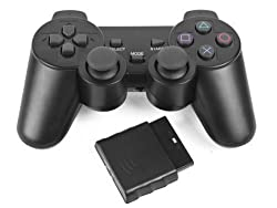 PS2 WIRELESS CONTROLLER REMOTE GAMEPAD FOR SONY PLAYSTATION 2 By Ae zone