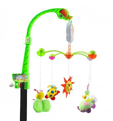 Musikmobile-Baby-Spieluhr-Musikuhr-Einschlafhilfe-Kinderbett-Babybett-1388