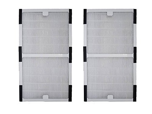 2pack idylis c hepa air purifier filter replacement for iap10200 iap10280 by home revolution