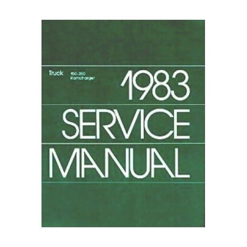 1983 Dodge Ram Pickup Truck Ramcharger Shop Service Repair Manual Book OEM