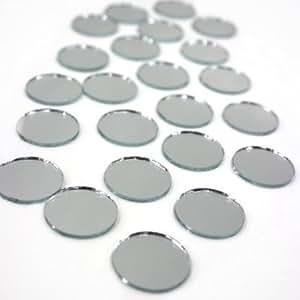 Mirror Round 1 Inch (50 Pcs)