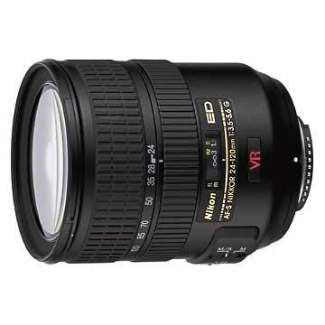 Nikon 24-120mm f/3.5-5.6G ED IF Autofocus VR Nikkor Zoom Lens