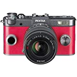 Pentax Q-S1 Compact System Camera - Gunmetal (Zoom Lens Kit)