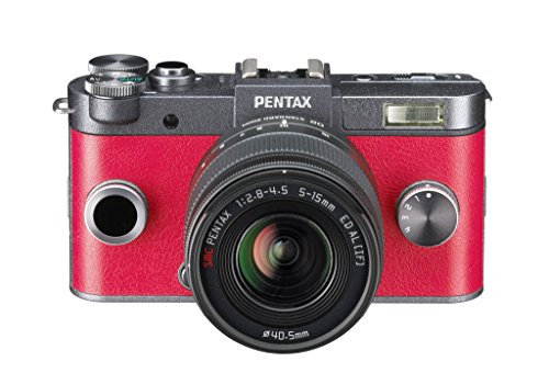 Pentax-Q-S1-Kit-con-Obiettivo-da-5-15mm-e-f28-45-e-con-Fotocamera-Mirrorless-ad-Ottiche-Intercambiabili-Sensore-CMOS-da-117-124-Mp-LCD-da-3-Video-Full-HD-Rossa