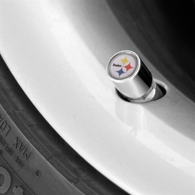 Pittsburgh Steelers Valve Stem Caps by Stockdale