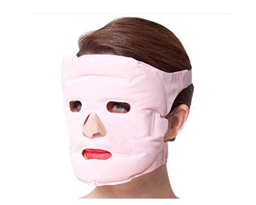 Handheld Massager Mask Tourmaline Gel Slim Face Facial Personal Massager