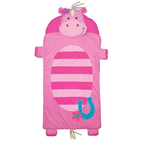 Stephen Joseph Girl Horse Nap Mat, Pink/Turquoise