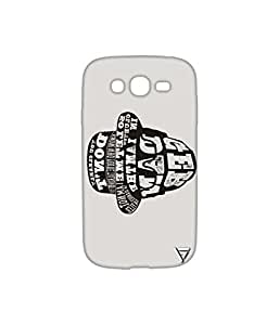 Vogueshell Typography Printed Symmetry PRO Series Hard Back Case for Samsung Galaxy Grand