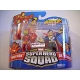 Marvel Superhero Squad Series 18 Mini 3 Inch Figure 2Pack Iron Man Dr. Strange by Hasbro