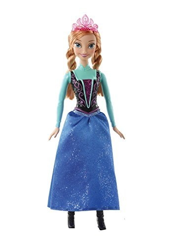 Disney Frozen Sparkle Princess Anna Doll