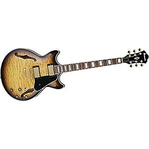 Ibanez AM93AYS Artcore Expressionist Semi-Hollow Electric Guitar, Yellow Sunburst
