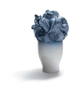 Amazon.com: Lladro Naturofantastic Large Vase Blue - Plus One Year
