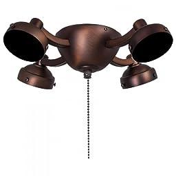 Dark Brushed Bronze 4 Light Universal Light Kit Model-K34-DBB