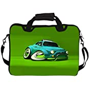 "Snoogg Deformed Fiat 2621 14"" 14.5"" 14.6"" Inch Laptop Notebook SlipCase With Shoulder Strap Handle Sleeve Soft..."