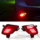 Led Rear Bumper Reflector Fog Brake Turn Indicator Lights For Mazda Cx-5 2012-16