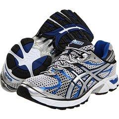 ASICS Men's GEL-Landreth 7 Running Shoe (White/Lightning/Royal, 8.5 D(M) US)