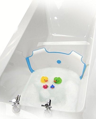 neuf-babydam-eau-du-bain-barriere-baignoire-pour-bebe-blanc-bleu