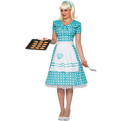 50s Iconic Housewife Adult Costume