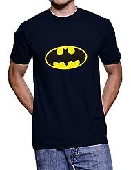 Fanideaz Printed Round Neck Batman T Shirts For Men