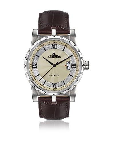 Richtenburg Reloj con movimiento automático suizo R12300 Lugano Marrón 42 mm12 mm