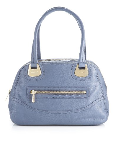 MICHAEL Michael Kors Pebbled Saratoga Large Leather Satchel Handbag