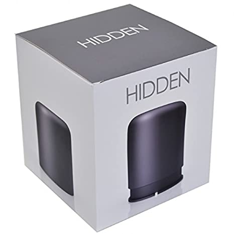 HiddenRadio - Haut-parleur Bluetooth - Noir Graphite
