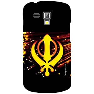 Design Worlds Samsung Galaxy S Duos 7582 Back Cover - Creative Designer Case and Covers