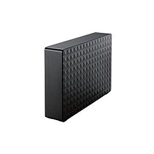 Seagate HDD 外付けハードディスク 3TB USB3.0 テレビ録画/パソコン/家電対応 ブラック SGD-NX030UBK