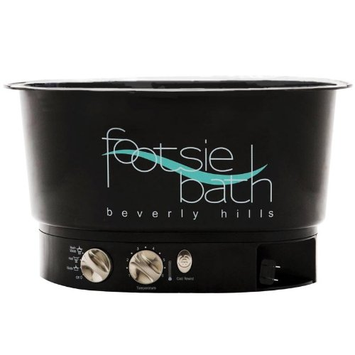 Footsie Bath Black Foot Spa Pedicure Relaxation Feet Water Brand New