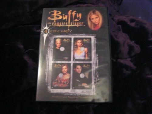 SERIOUS USA Buffy The Vampire Slayer CD Cardz Windows MacintoshB00007J88V