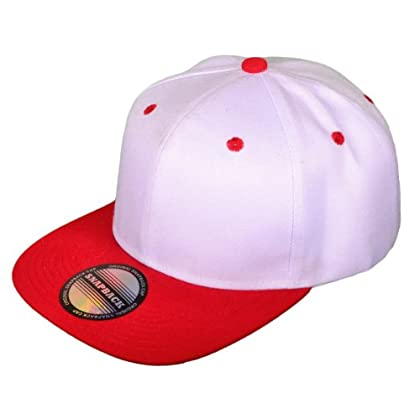 HT_GJK002SN-WH/RE Wholesale Flat x99638qug Bill Blank/Plain Snapback Hats w/ Green Underbill (Two Tone, White/Red) hat r22grj2739w cap head hair summer sport fan fun coupon codes 2015