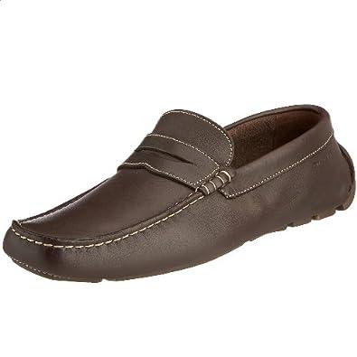 GANT Joyrider dark brown leather 45.36008A079, Herren Mokassins, Braun (brown), EU 41