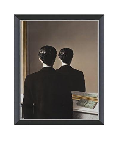 Art Source Rene Magritte La Reproduction Interdite 2014, Multi, 22.75 x 18
