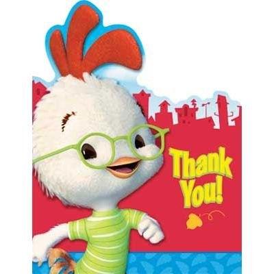 Chicken Little Thank You Notes 8 pc