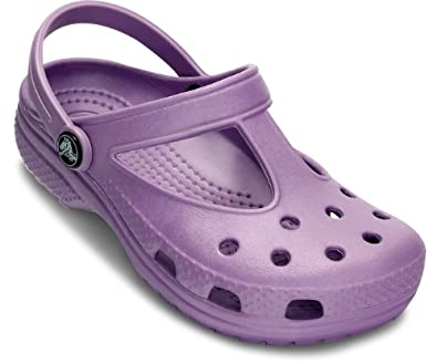 Crocs Candace Girls Kids Girls Footwear, Size: 12-13 M US Little Kid, Color: Iris