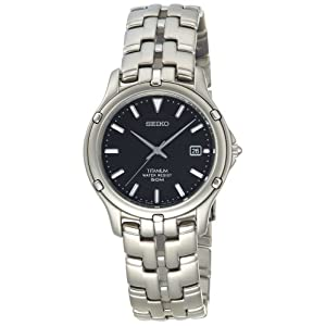 Click to buy Seiko Watches for Men: SLC033 Le Grand Sport Titanium Watch from Amazon!