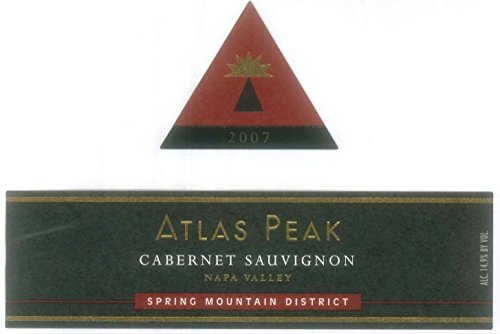2007 Atlas Peak Cabernet Sauvignon, Spring Mountain 750 Ml