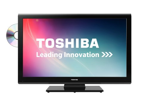 Toshiba 32DL933B 32-inch Widescreen HD Ready LED TV with Freeview and Built-in DVD Player (2012 model)