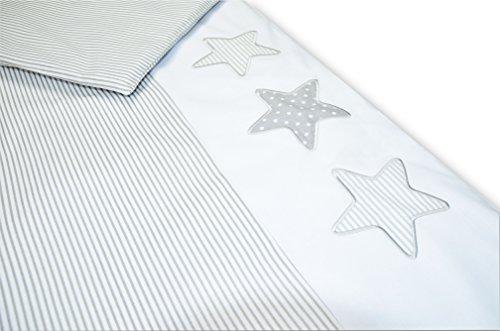 Amilian Baby Bettwäsche Design: S01, 80x80 cm + 35x40 cm (2 tlg.)