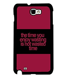printtech Funny Quotes Back Case Cover for Samsung Galaxy Note 2::Samsung Galaxy Note 2 N7100