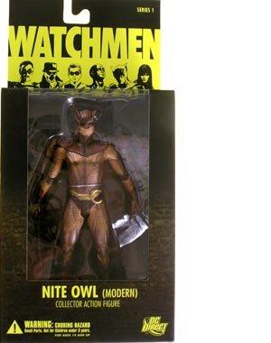 DC Comics Watchmen Movie Nite Owl Modern Action Figure